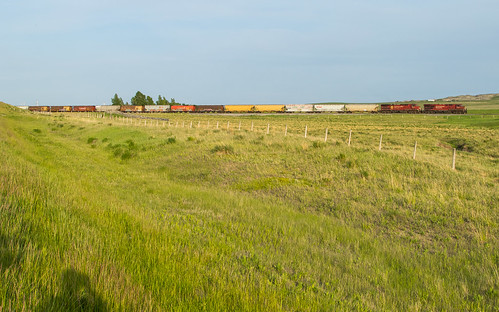 CP 8759 363 at Mile 71 Crowsnest Sub