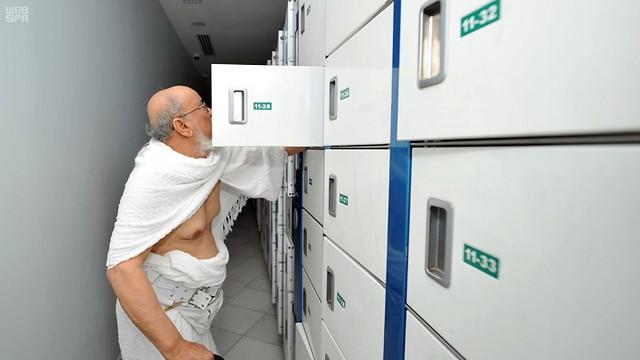 5045 How to use luggage locker service outside Masjid-al-Haram 02