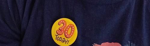30 badge