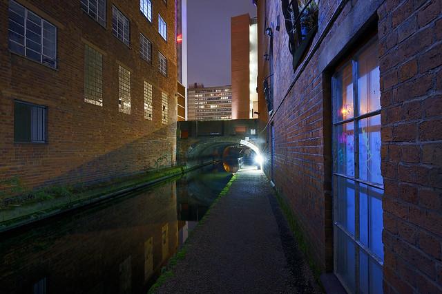 Birmingham & Fazeley Canal, Near Ludgate Hill Bridge 24/11/2018