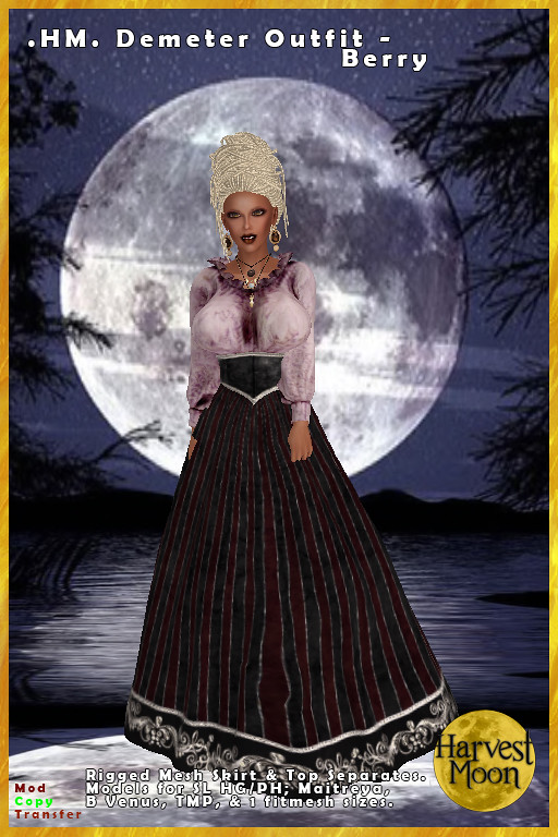 Harvest Moon – Demeter Outfit – Berry