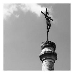 Ancienne croix de cimetière - Théméricourt - Photo of Santeuil
