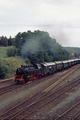 86 457  Bhf. Hersbruck rechts der Pegnitz 1985