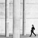 Striding Through a Concrete Jungle by Rachel Dunsdon