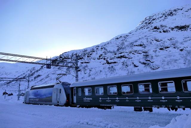 Myrdal railway station