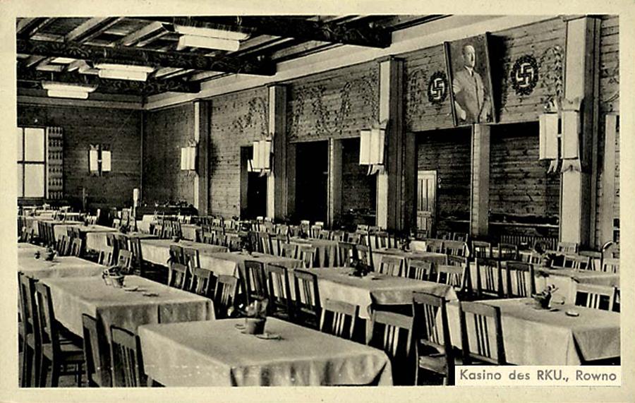 rowno_casino_RKU_1943 Столовая на Немецкой, 49, где подпольщицы совершили взрыв