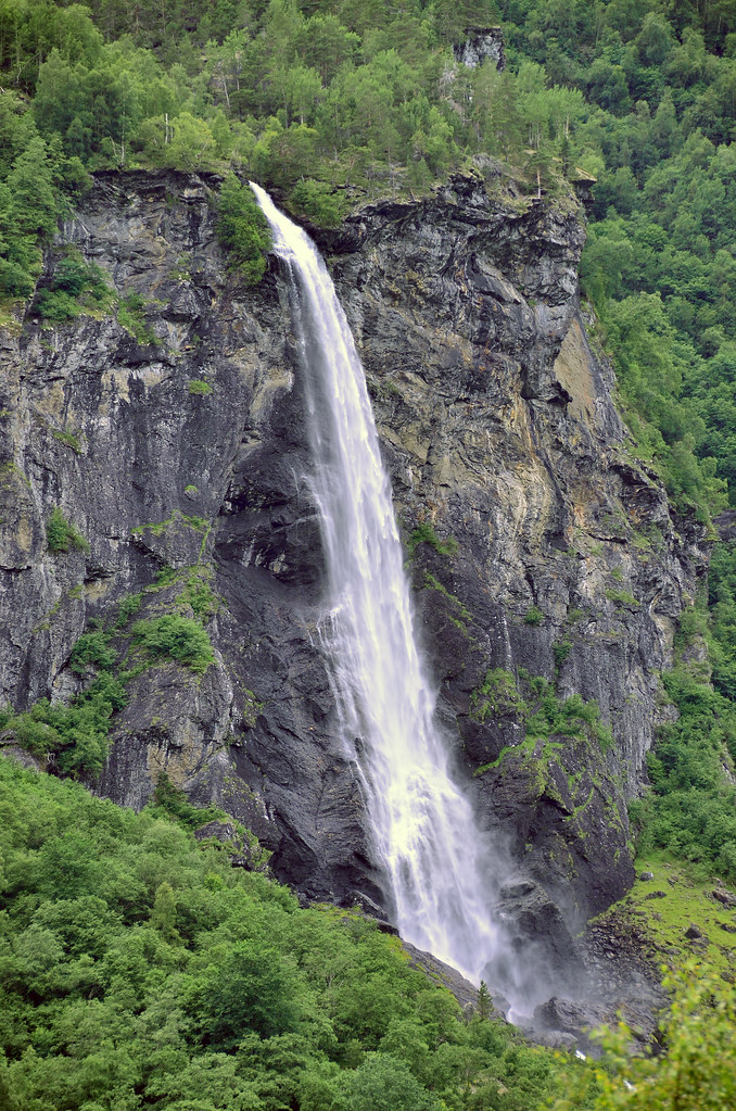 """Norway in a Nutshell"" waterfall"