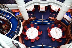 The Clipper Dining Room Aboard the Royal Clipper