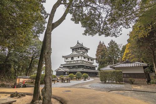 Iwakuni Castle of the mountaintop