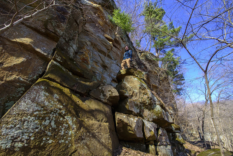 Half Way Up the Rockface