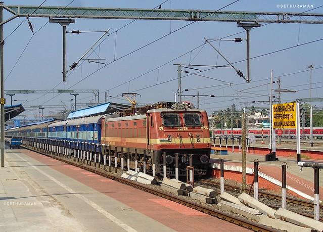 Trivandrum-Lokamanyatilak Netravathi Express Departing, Sony DSC-W830