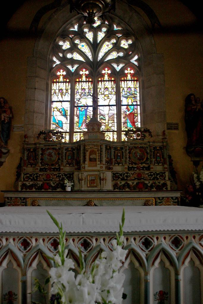 Notre Dame Izel Vor - intérieur