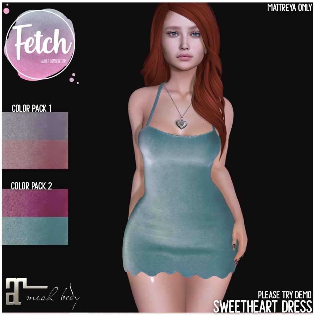 [Fetch] Sweetheart Dress @ FLF! - TeleportHub.com Live!