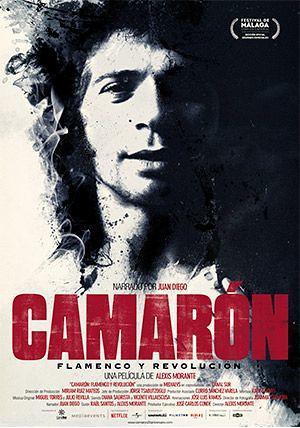 Camaron flamenco y revolucion poster