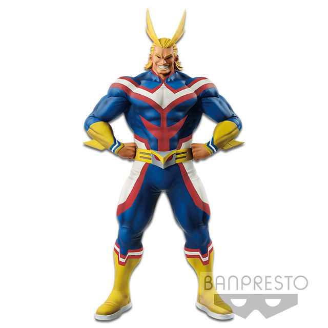 最棒的英雄!! Banpresto AGE OF HEROES 系列《我的英雄學院》歐爾麥特 僕のヒーローアカデミア AGE OF HEROES -ALL MIGHT-