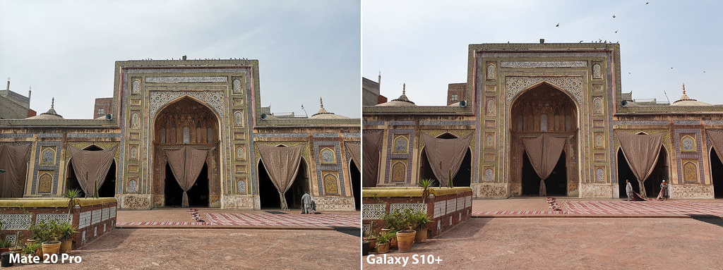 Mate 20 vs Galaxy S10+: Shot with wide angle lens