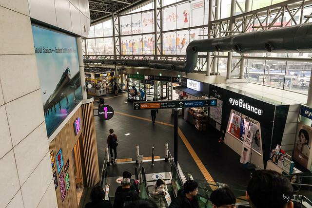 공항철도 서울역 1층