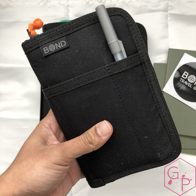 Bond Travel Gear Wallet & Field Journal & Tomoe River Notebooks Review 14