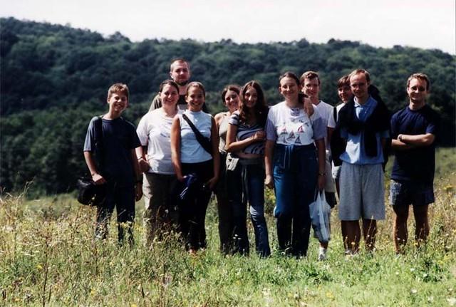 VCSE - A 2002. évi, kustánszegi VCSE-tábor csoportképe - Fotó: Zelkó Zoltán