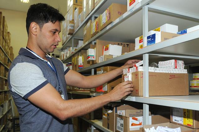 Todos que usam o SUS tem direito de receber, de forma gratuita, todos os remédios que foram receitados pelo médico - Créditos: Renato Araújo/Agência Brasília