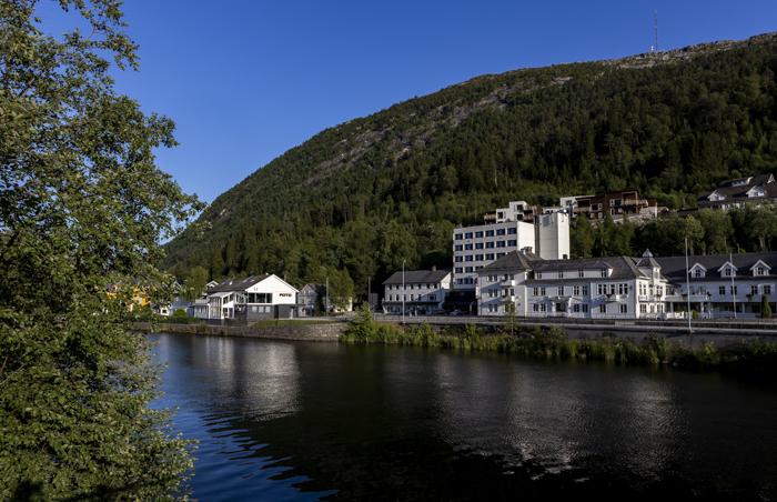 Norja Norge Norway Førde Thon Hotel hotelli