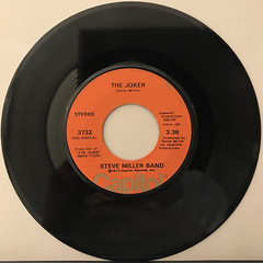 STEVE MILLER BAND:THE JOKER(RECORD SIDE-A)