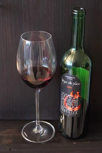 """Vega de Yuco Tinto"" (Rotwein von Lanzarote)"