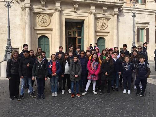 Consulta delle Ragazze e dei Ragazzi in visita a Roma