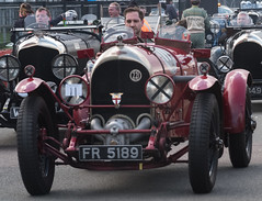 """Traffic is really bad ! "" .FR5189 the first supercharged Bentley"
