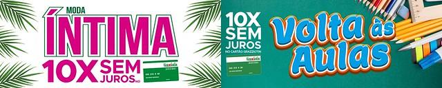 Confira as promoções em Moda Íntima e Volta às Aulas na Grazziotin em São Gabriel