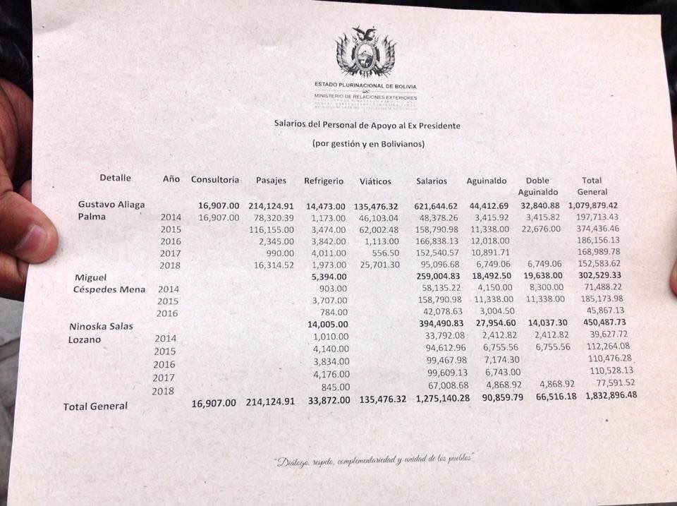 carlos mesa dinero pago demanda maritima 52983628_2202778983078323_5513362811075428352_n