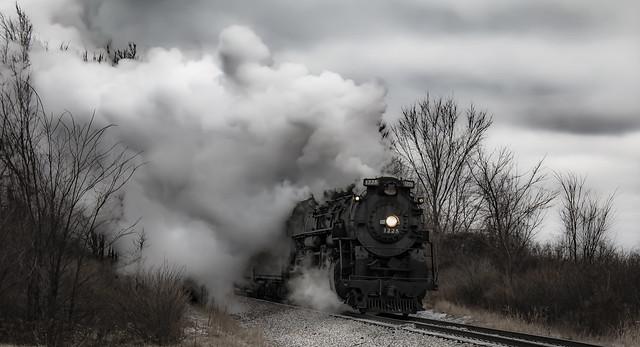 train smoke bw 2