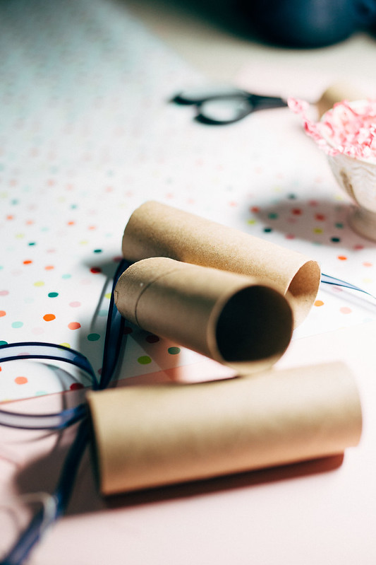 DIY Toilet Paper Roll Crackers - Perfect for New Years
