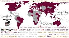 #SDBWP #SDBgtfas #CountriesTravelledInPastFewDecades