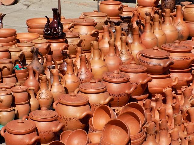ქართული თიხის ჭურჭელი / Georgian pottery, Nikon COOLPIX L330