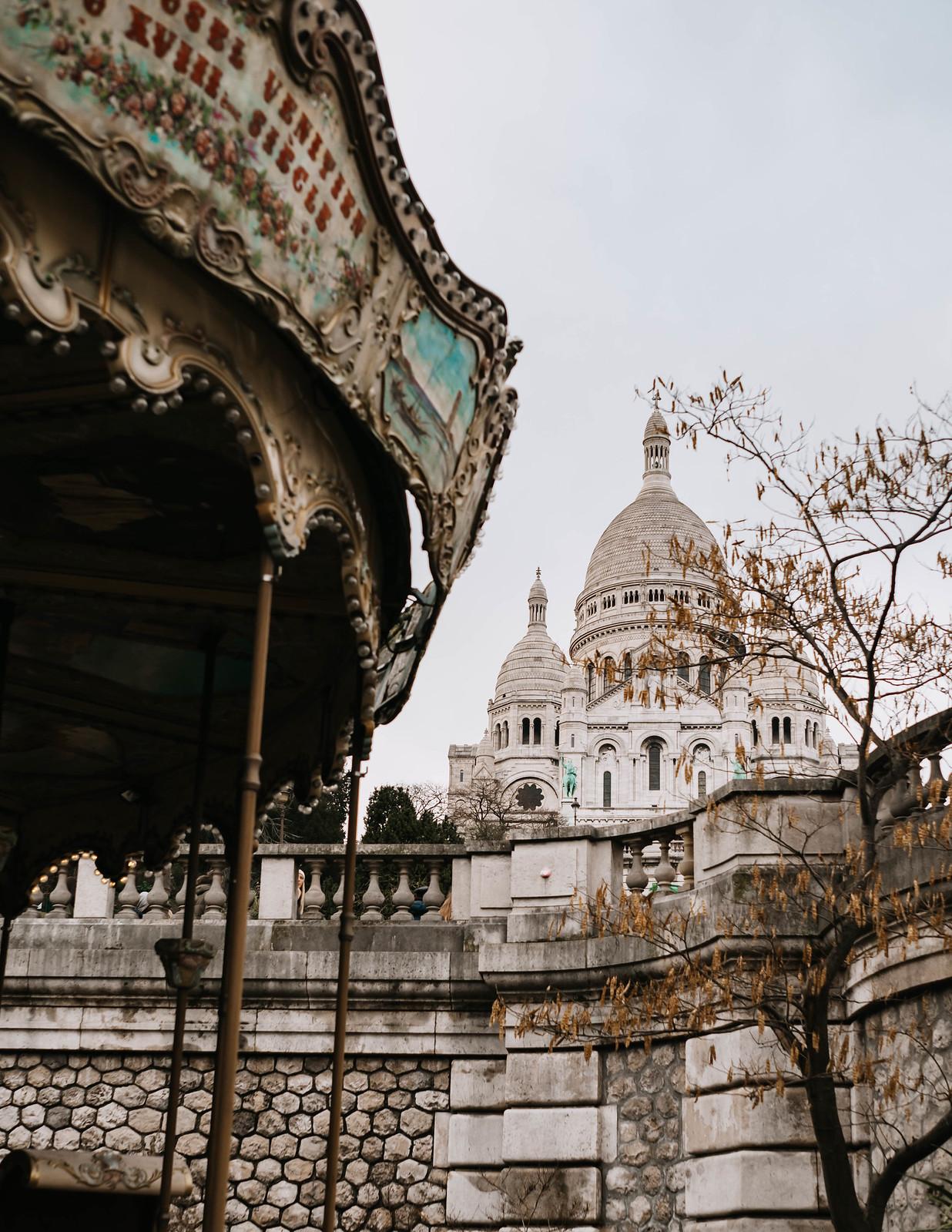 sacre coeur pariisi karuselli