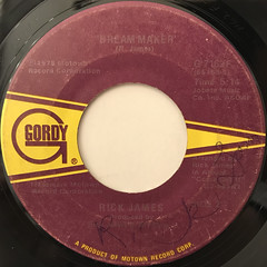 RICK JAMES:MARY JANE(LABEL SIDE-B)