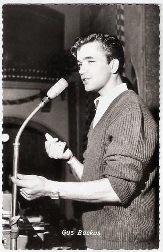 Gus Backus (1937-2019)