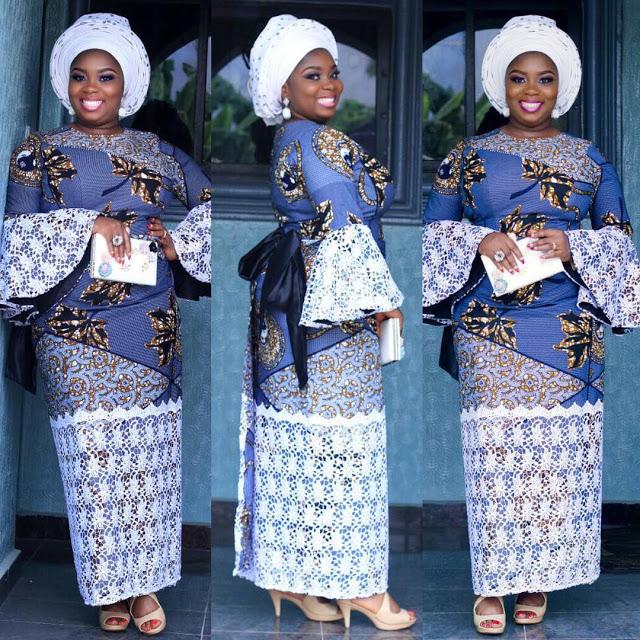 a00e588c1e7761 Last Ankara Skirt and Blouse Style for Wedding - fashionist now