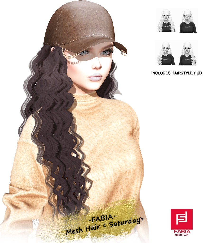 -FABIA- Mesh Hair < Saturday> Fat Pack