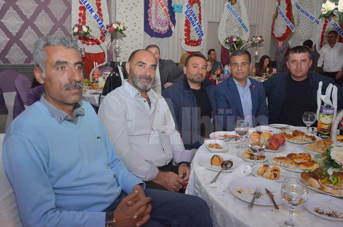Şevket Biçen, Servet Akın, Tayyar Hanlı, Mesut İlhan, Halil Kanber.