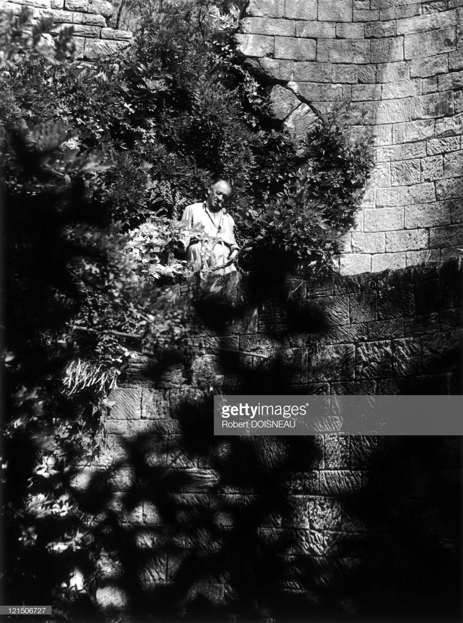 1948. Вилла Сен-Сегон, Вильфранш-сюр-Мер. Стены виллы