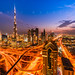 Dubai Lights by Scott Masterton