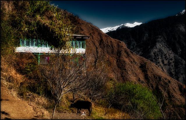 4-The village of Lagcha, Nikon D3000, AF-S DX VR Zoom-Nikkor 18-55mm f/3.5-5.6G
