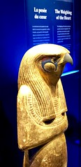 Statue en bois doré de Horsemsou (Horus l'Ancien), 1336-1326 av. J.-C.
