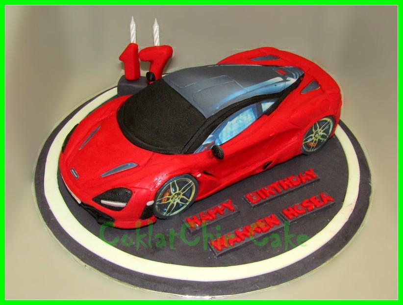 Cake Supercar McLaren WARREN HOSEA 24 cm