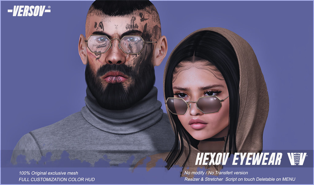 [ Versov // ] Hexov glasses available FaMESHed! (opens 12pm slt)