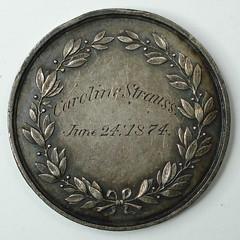 Mystery medal 4 reverse