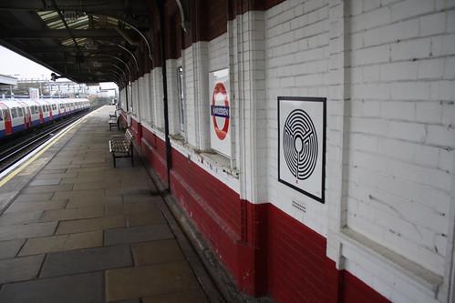 London Underground Labyrinth 48 Harlesden