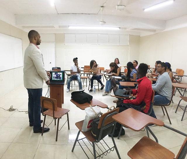 Bienvenida Estudiantes Nuevos 1-2019, Turismo - UTESA